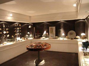 Visão de uma das salas do Museu Mineral Mário Porto. Foto: G. Medeiros.