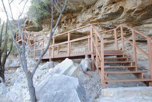 Projeto de acessibilidade aos sítios arqueológicos desenvolvido pelo IPHAN/RN.